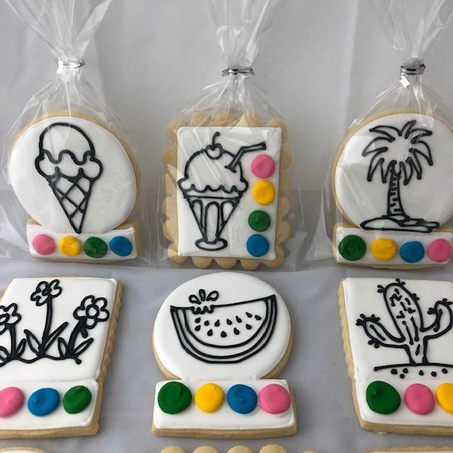 paint me custom cookies vancouver langley